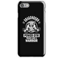 Dovahgym (Dragonborn Gym) iPhone Case/Skin