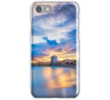 Carrer La Mar at sunset iPhone Case/Skin