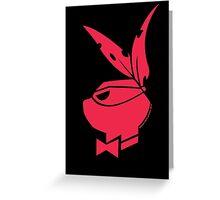 Playboy Turtle: Raphael Greeting Card