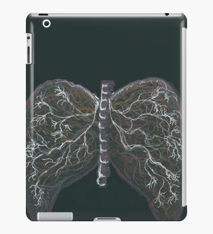 Strong lungs iPad Case/Skin