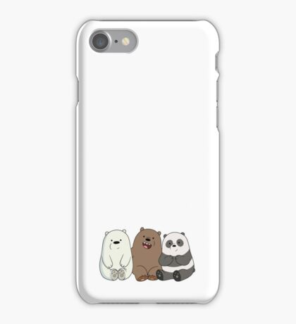 We Bare Bears Cubs Babies iPhone Case/Skin