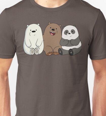 We Bare Bears Cubs Babies Unisex T-Shirt