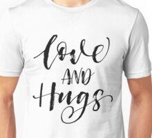 Love and Hugs XOXO Unisex T-Shirt