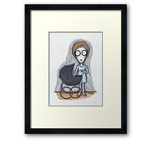 rosemary's baby Framed Print