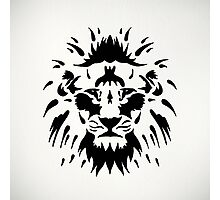Tribal Lion Photographic Print