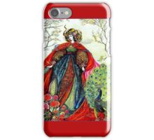 SUMMER QUEEN ; Vintage Fairy Tale Print iPhone Case/Skin