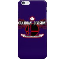 Super Smash Bros. Canadian Division iPhone Case/Skin