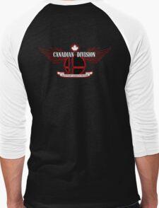 Super Smash Bros. Canadian Division Men's Baseball ¾ T-Shirt