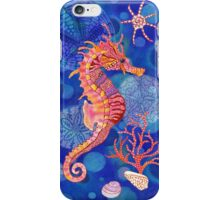 Seahorse in the Blue iPhone Case/Skin