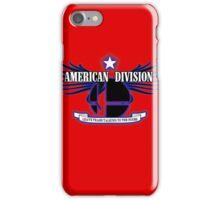 Super Smash Bros. American Division iPhone Case/Skin