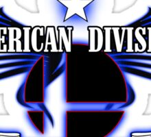 Super Smash Bros. American Division Sticker