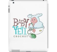 Baby Yeti Crochet iPad Case/Skin