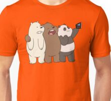 We Bare Bears Selfie Unisex T-Shirt