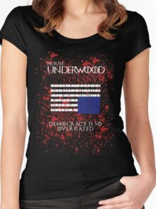 House Underwood Women's Fitted Scoop T-Shirt