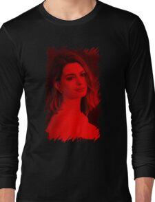 Anne Hathaway - Celebrity Long Sleeve T-Shirt
