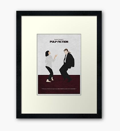 Pulp Fiction 2 Framed Print