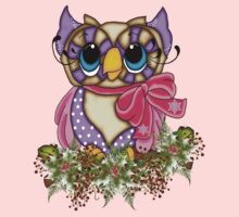 The Owl and the Holly Kids Tee