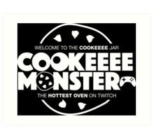 Welcome To The Cookie Jar! Art Print