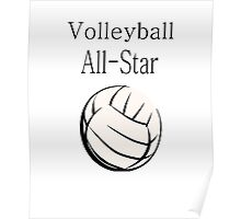 Volleyball All-Star Poster
