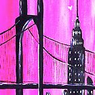City In Pink by WhiteDove Studio kj gordon