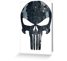 Punisher (camo) Greeting Card