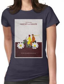 Harold and Maude Womens Fitted T-Shirt