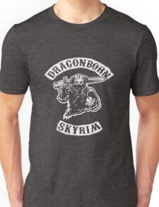 Dragonborn's Sweetroll - White Unisex T-Shirt