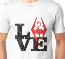 Skyrim Love (Black) Unisex T-Shirt