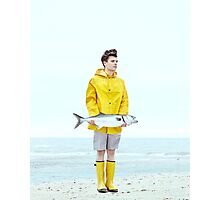 fishing yes we can  Photographic Print