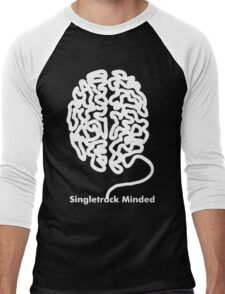 Brain Conect Funny Men's Baseball ¾ T-Shirt