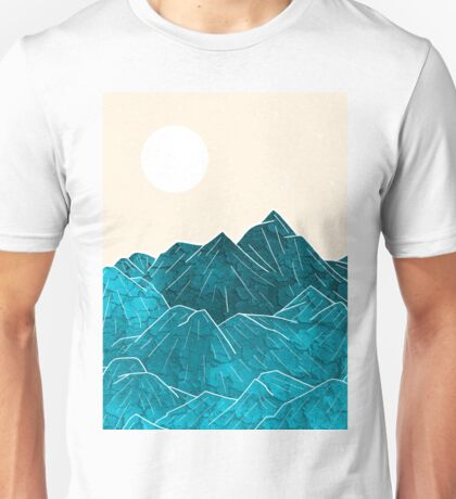 The mountains under the white sun Unisex T-Shirt