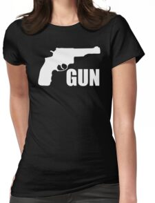 Gun Gun Fun Womens Fitted T-Shirt