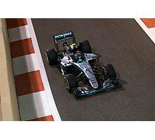 Nico Rosberg Formula 1 Photographic Print