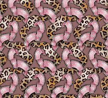 Leopards'n Lace - Pink by BonniePhantasm