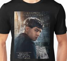 Fantastic Beasts and Where to Find Them Credence Poster Unisex T-Shirt