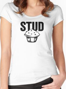 Cake Funny Women's Fitted Scoop T-Shirt