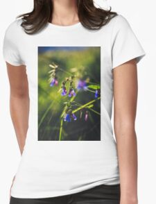 Valley Bluebells Womens Fitted T-Shirt