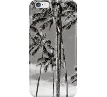 B&W Spreks Palms iPhone Case/Skin