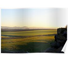 Dirleton Castle and Countryside Poster
