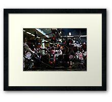 Pit Stop Formula 1 Framed Print