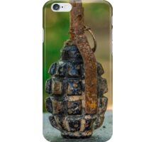 Hand grenade iPhone Case/Skin