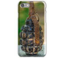 Hand grenade iPhone Case/Skin