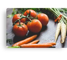Fruit and vege Canvas Print