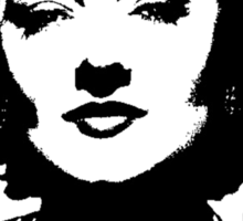 Myrna Loy Is Class Sticker