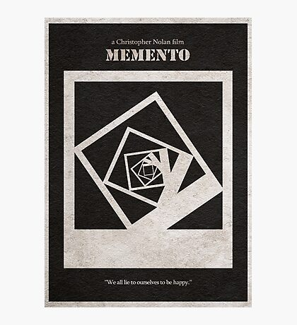 Memento Photographic Print