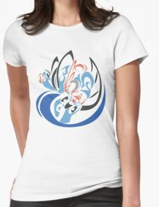 Mega Swampert Womens Fitted T-Shirt