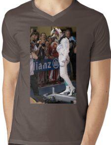 Lewis Hamilton Formula 1 Mens V-Neck T-Shirt