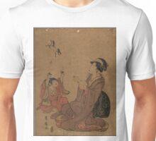 A modern allegory of the Chinese sage Zhang Guo lao - Toyohiro Utagawa - 1795 Unisex T-Shirt