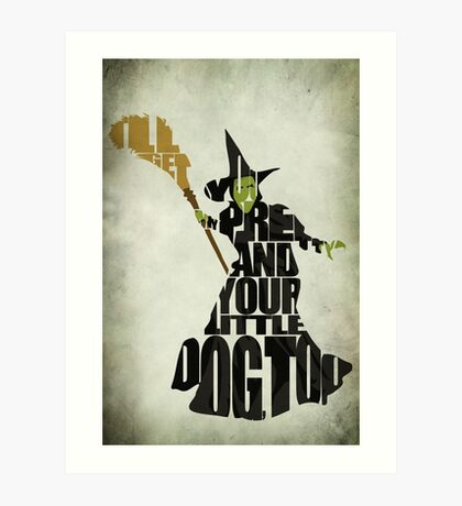 Wicked Witch Of The West Art Print