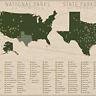 US National Parks - Texas by FinlayMcNevin